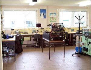 Installation de salles de formation techniques